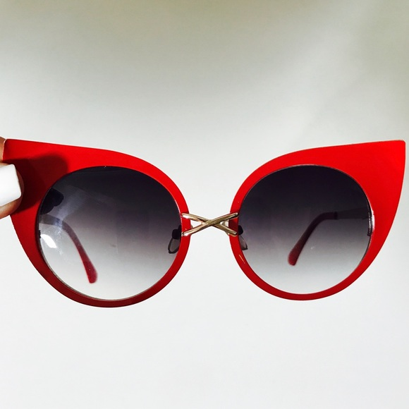 29354256bc7d Accessories - Red cat eye sunglasses